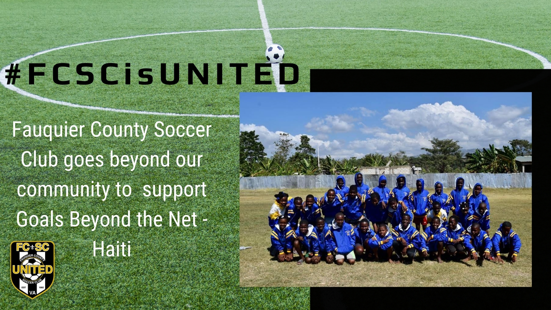 FCSC Supports Goals Beyond the Net - Haiti