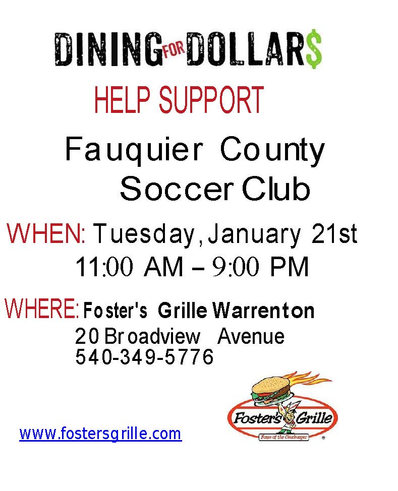 Spirit Day and Registration Night @ Foster's Grille